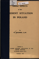 Legal Aspects of the Present Situation in Poland PDF