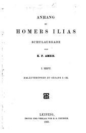 Anhang zu Homers Ilias, Schulausgabe: Band 1