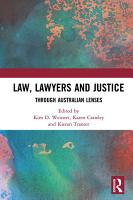 Law  Lawyers and Justice PDF