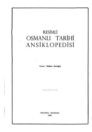 Resimli Osmanli Tarihi Ansiklopedisi