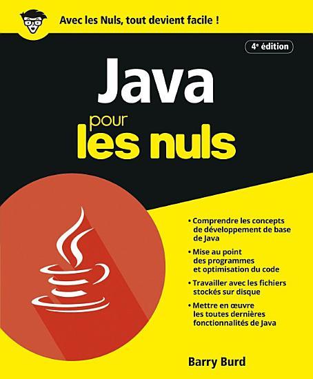 Java pour les Nuls  4e   d  PDF