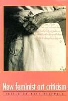 New Feminist Art Criticism PDF