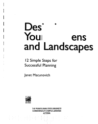 Designing Your Gardens and Landscapes PDF
