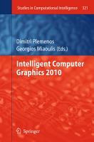 Intelligent Computer Graphics 2010 PDF