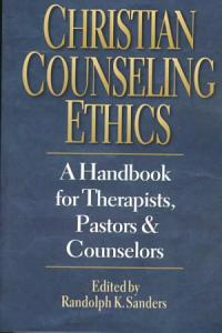Christian Counseling Ethics Book