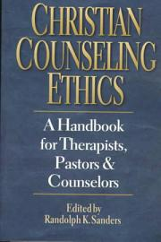 Christian Counseling Ethics
