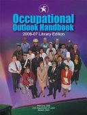 Occupational Outlook Handbook 2006-07 (Clothbound)