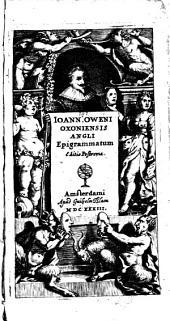 Epigrammatum editio postrema