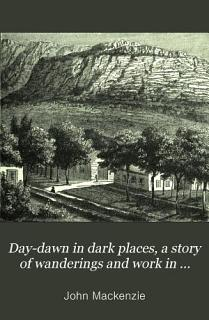 Day dawn in Dark Places Book