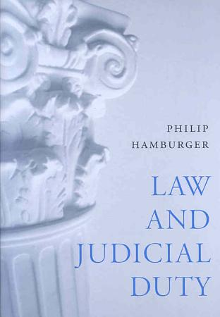 Law and Judicial Duty PDF