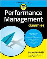 Performance Management For Dummies PDF