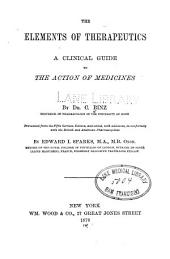 The Elements of Therapeutics: A Clinical Guide to the Action of Medicines