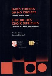 Hard Choices Or No Choices Book PDF