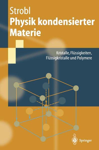 Physik kondensierter Materie PDF