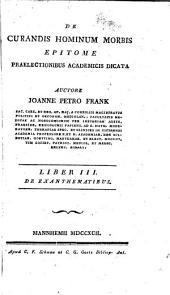 De curandis hominum morbis epitome praelectionibus academicis dicata: Volume 2