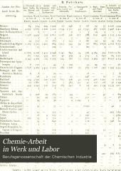 Chemie-Arbeit in Werk und Labor: Band 12