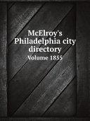 McElroy's Philadelphia city directory