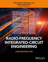 Radio Frequency Integrated Circuit Engineering PDF