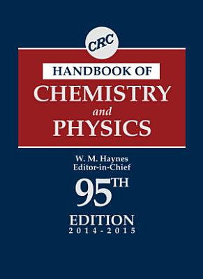 CRC Handbook of Chemistry and Physics PDF