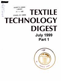 Textile Technology Digest PDF