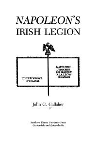 Napoleon s Irish Legion
