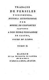 Trabajos de Persiles y Sigismunda: historia setentrional