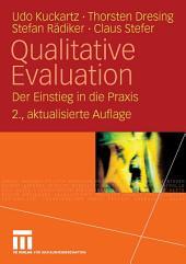 Qualitative Evaluation: Der Einstieg in die Praxis, Ausgabe 2