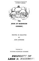 The Book of Mushroom Cookery