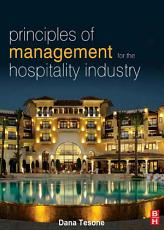Principles of Management for the Hospitality Industry PDF