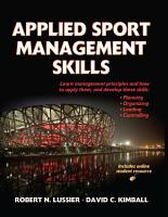 Applied Sport Management Skills PDF