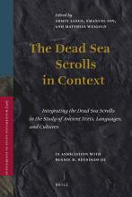 The Dead Sea Scrolls In Context  2 vols  PDF
