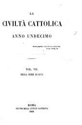 La Civiltà cattolica: Volume 7