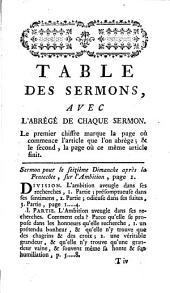 Sermons, panégyriques, oraisons funèbres, méditations et pensées: Volume4