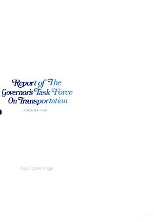Report of the Governor s Task Force on Transportation PDF