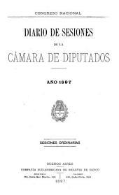 Diario de sesiones de la Cámara de Diputados: Volumen 1