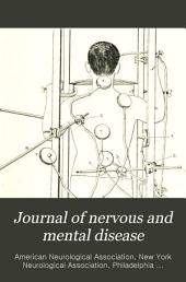 Journal of Nervous and Mental Disease