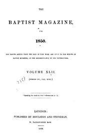 The Baptist Magazine: Volume 42