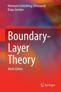 Boundary Layer Theory