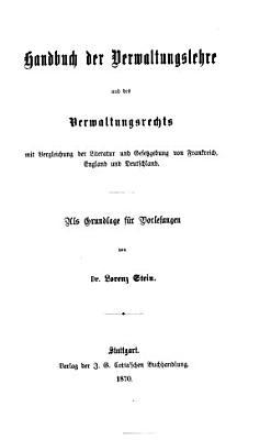 Handbuch der Verwaltungslehre und des Verwaltungsrechts PDF