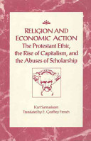 Religion And Economic Action Book PDF
