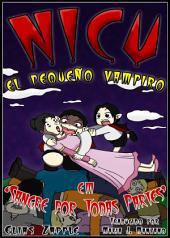 Nicu - el pequeño vampiro: sangre por todas partes