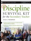 Discipline Survival Kit for the Secondary Teacher PDF