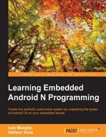 Learning Embedded Android N Programming PDF