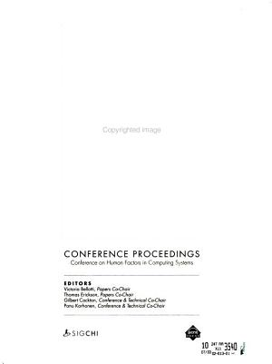 CHI     Conference Proceedings
