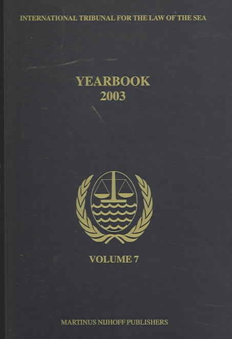 Yearbook International Tribunal for the Law of the Sea
