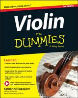 Violin For Dummies PDF