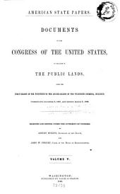 American State Papers: Documents, Legislative and Executive, of the Congress of the United States, Issue 32