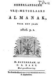 Nederlandsche vrijmetselaars almanak voor den jare ...: Volume 13