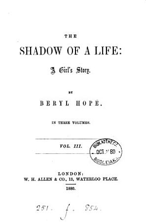 The shadow of a life PDF