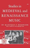 Studies in Medieval & Renaissance Music